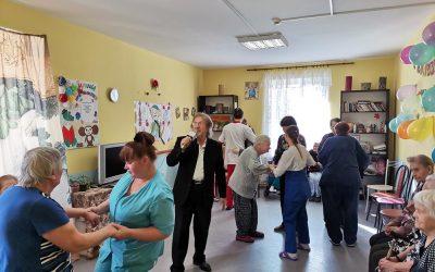 Как мы провели День Пожилого Человека в филиале Стрельна?