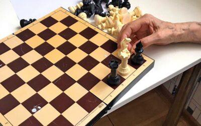 Шахматный кружок в пансионате Домашний Уют